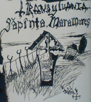 Drawing by Per Yngve Ohlin Sapinta Maramures by lilg9