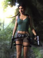 Lara Croft: Exploring Danger by JavierMicheal