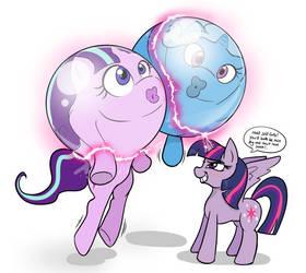 Ball Pony BFFs by MistressCelestia
