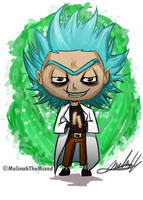 Chibi- Evil Rick (Rick and Morty) by MeLiNaHTheMixed