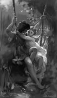 Pierre Auguste Cot Master Study by koel-art