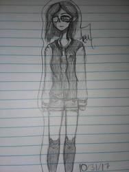 Persona doodle, again. by ZeldaThePirateSim