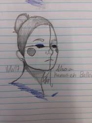 Ballora Drawing  by ZeldaThePirateSim