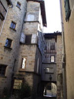 Medieval town - Figeac 26 by HermitCrabStock