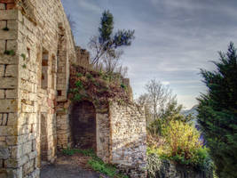Turenne 12 - Medieval Ruins by HermitCrabStock