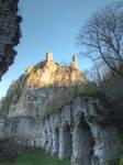 Medieval ruins - Peyrusse-le-Roc 03 by HermitCrabStock