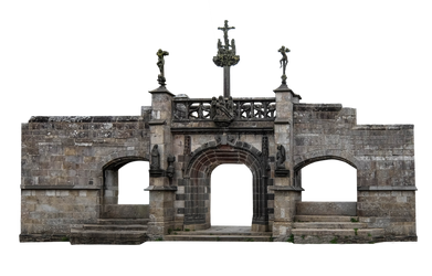 Church Gate - Cut Out Photo by HermitCrabStock