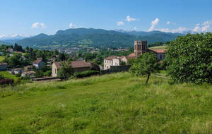 Ariege 027 - Village in the mountain by HermitCrabStock