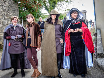 Halloween 1718 - Medieval Group by HermitCrabStock