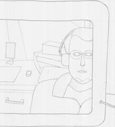 Self-Portrait: Me by X4nd5r