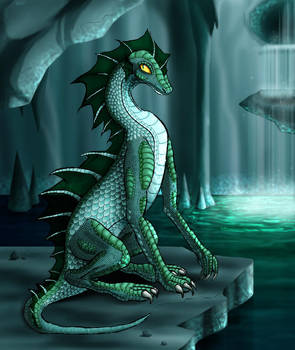 Contest: Water Dragon by medli20