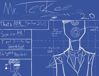 That's MR. Teckee 2 U! (album cover art) by DarkBrushBrony