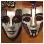 The Spine and Rabbit masks by DarkBrushBrony