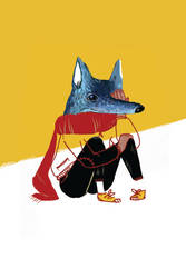 L'occhio del lupo by Bluoltremare