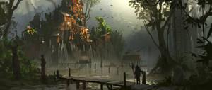 Swamp Slums by Kurobot