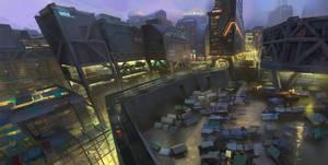 Walled City by Kurobot