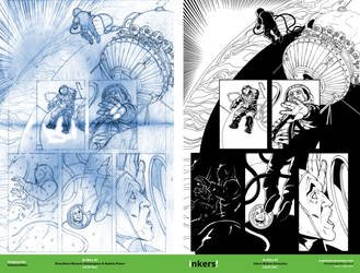 Dr Who #7 Pencil-Inks by rj-gonzalez