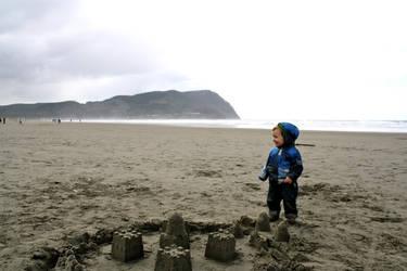 Sandcastle by AstaraelEternal