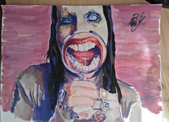 Marilyn Manson (AS) by KlopBondy