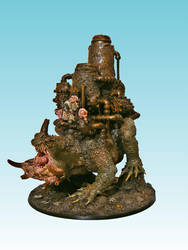 Nurgle Walking Factory by Nergling