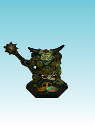 Nurgle Champion with mace by Nergling