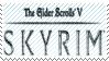 The Elder Scrolls V: Skyrim Stamp by ADDOriN