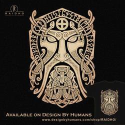 Thor.Godmask. by RAIDHO-DMT