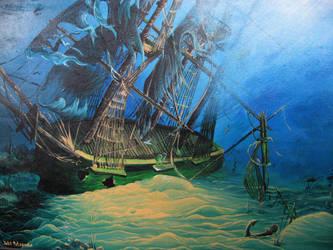 Underwater Ship by doctrina-kharkov