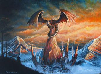 Dragon RPG Game Art by doctrina-kharkov