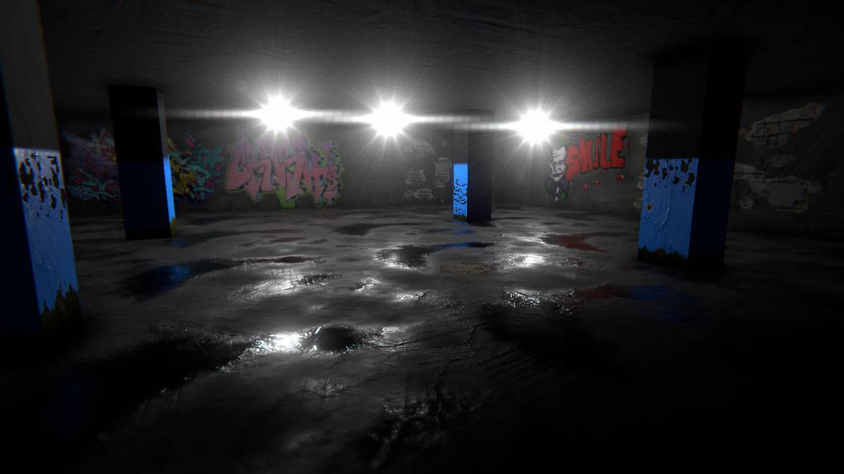 Wet floor ( Unity ) by doctrina-kharkov