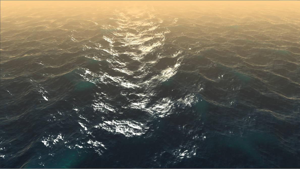 Unity Ocean Water Shader by doctrina-kharkov
