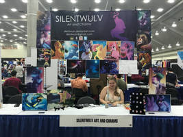 Bronycon 2017 Booth by SilentWulv