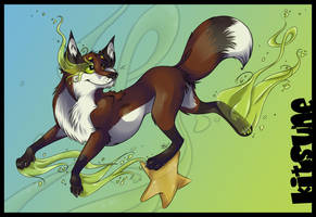 ::Kitsune On the Star:: by Pascalou