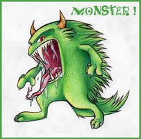 Monster by Pascalou