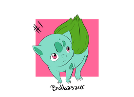 Bulbasaur: Pokemon Number 1 by Pascalou