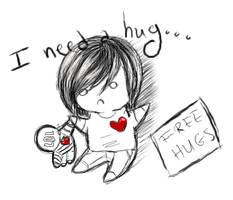 I Need a Hug by Pascalou