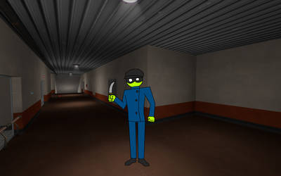 Green Spy by JMFAnimations8