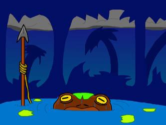 Swamp Frog by JMFAnimations8