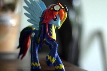 Grown up Rainbow Dash by MidnightmareDream