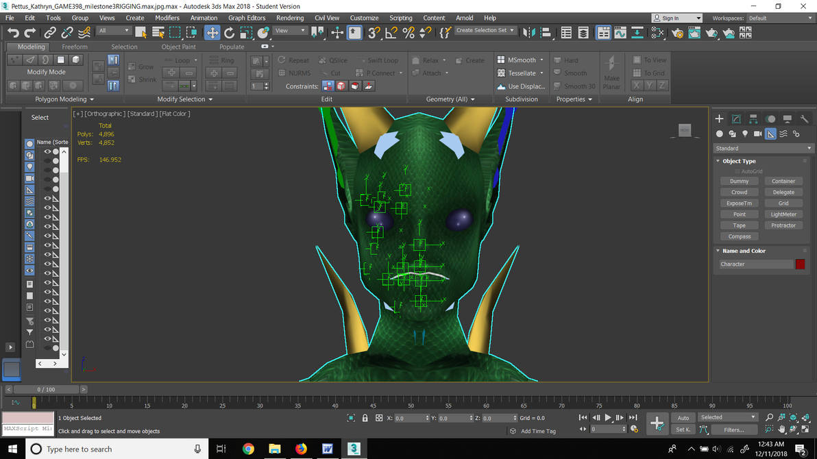 Facial Rigging for Facial Animation by Ga-Maleven