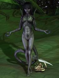 Alien Hybrid - By Maledetta Angela by Destiny3000