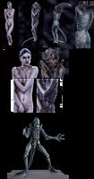 Alienation: Hybrid - By Sandra Sarbu by Destiny3000