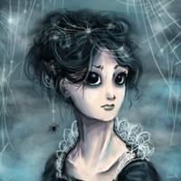 Spider Girl by Ludmila-Cera-Foce