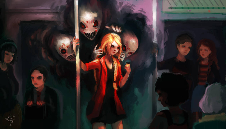 Haunted Mind by Ludmila-Cera-Foce