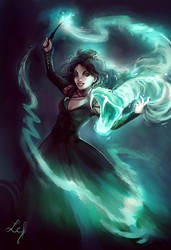 Bellatrix Lestrange by Ludmila-Cera-Foce