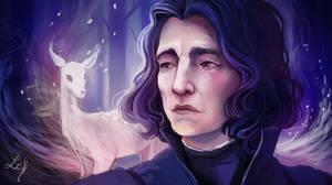 Severus Snape by Ludmila-Cera-Foce
