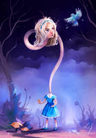 Alice in Wonderland by Ludmila-Cera-Foce