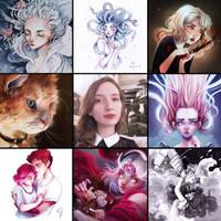 Art vs Artist by Ludmila-Cera-Foce