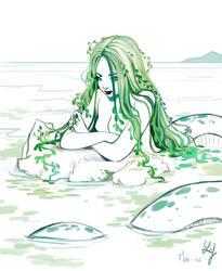 Mermay 2018 #02 - Algae by Ludmila-Cera-Foce
