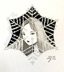 Inktober 2018 - Nature Creature 20 : Frost by Ludmila-Cera-Foce